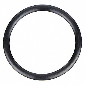 "Round #212 Medium Hard Viton O-Ring, 0.859"" I.D., 1.137""O.D., 25PK"