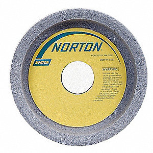 "5"" Straight Cup Grinding Wheel, 38A60-KVBE, 1-1/2"" Thickness, 1-1/4"" Arbor Size, 60 Grit"