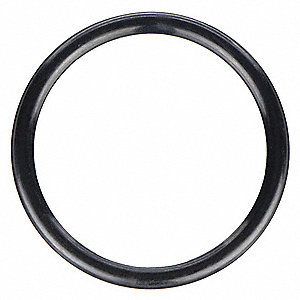 Round Very Hard Buna N O-Ring, 33.0mm I.D., 39.0mmO.D., 25PK
