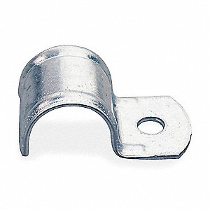 One Hole Clamp, Pre-Galvanized Steel