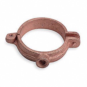 Split Ring Hanger Split Ring Hanger, Copper Electro Plated Cast Iron