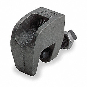 "For 1/2"" Rod Size Beam Clamp, Steel"