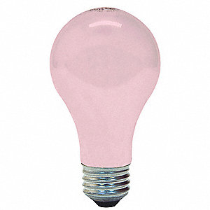 100 Watts Incandescent Lamp, A19, Medium Screw (E26), 1330 Lumens