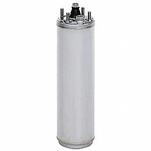 1-1/2 HP Deep Well Submersible Pump Motor,3-Phase,3450 Nameplate RPM,230 Voltage