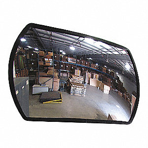 Convex Mirror,Indoor,24x36 In