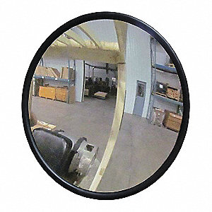 "8""-dia. Circular Outdoor Convex Mirror, Viewing Distance: 8 ft."