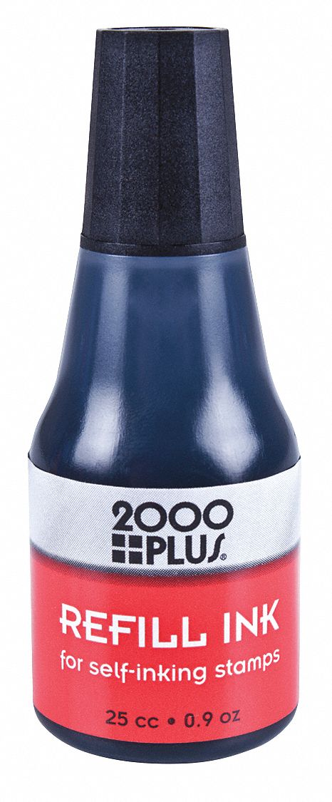 cosco black ink refill for self inking and traditional style stamps