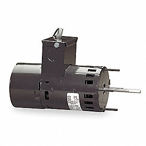 1/15 HP Draft Booster Motor, Shaded Pole, 3000 Nameplate RPM, 208-230 Voltage, Frame Non-Standard