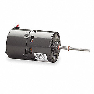 1/25 HP Draft Booster Motor, Shaded Pole, 3200 Nameplate RPM, 115 Voltage, Frame Non-Standard