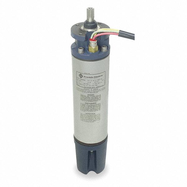 Franklin 10 hp deep well submersible pump motor 3 phase for Submersible hydraulic pump motor
