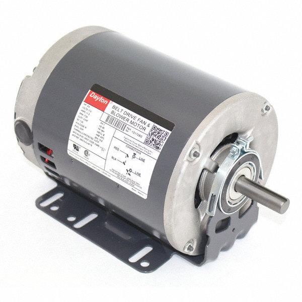 dayton 3 4 hp belt drive motor split phase 1725 On dayton belt drive motors