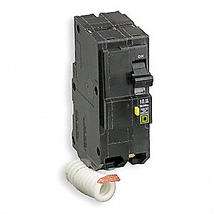 Plug In Circuit Breaker, QO, Number of Poles 2, 20 Amps, 120/240VAC