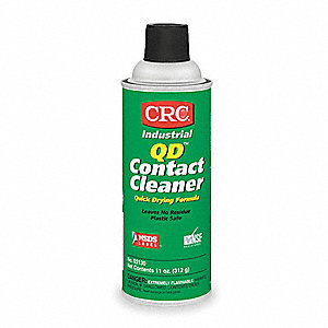 Contact Cleaner, 11 oz. Aerosol Can, Unscented Liquid, 1 EA