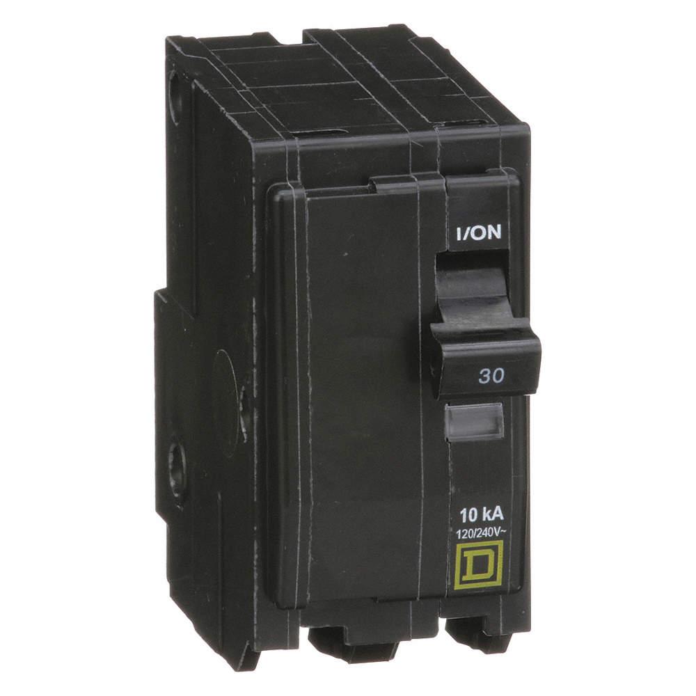 10KA 30 AMP QO, 2 Pole SQUARE D QO230 Circuit Breaker 120//240V