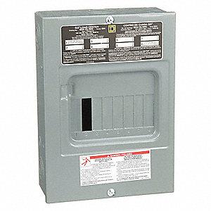 SQUARE D QO612L100DF 100A 1-Phase Main Lug Load Center 6 Circuit
