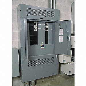 Panelboard Interior, 400 Amps, 600VAC/250VDC Voltage, Number of Spaces: 81