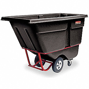 Tilt Truck, 1 cu. yd. Volume Capacity, 2100 lb. Load Capacity, Heavy-Duty Hopper Type