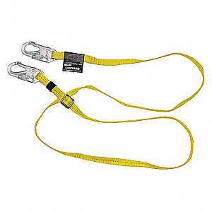 Restraint Lanyard,10 to 6 ft.,Nylon