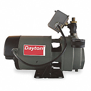 1-1/2 HP Cast Iron Convertible Jet Pump, 115/230V, 21.0/10.5 Amps
