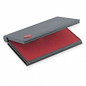 STAMP PAD,SIZE 2,COLOR INK RED