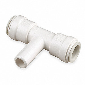 "Polysulfone Stackable Branch Tee, 1/2"" Tube Size"