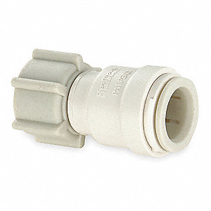 "Polysulfone Female Adapter, 1/2"" Tube Size"