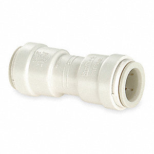 "Polysulfone Union Adapter, 3/8"" Tube Size"