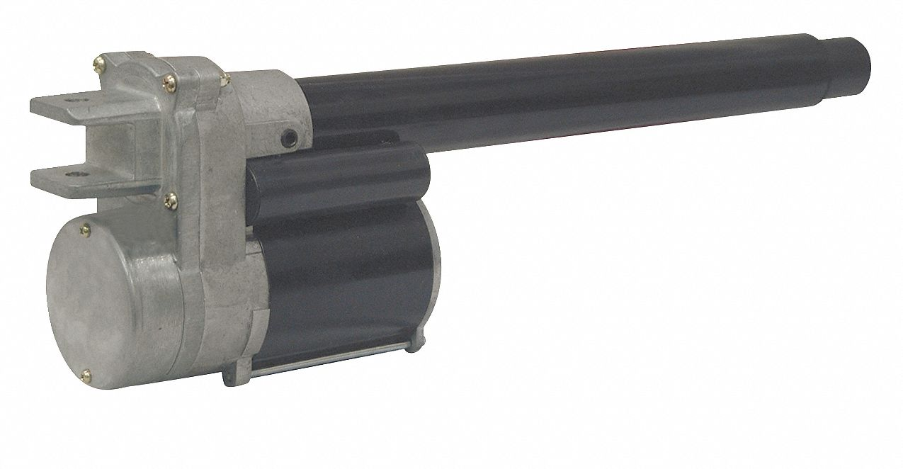 Linear Actuator, 675 lb Rated Load, 24 in Stroke Length, 16 in/min Speed @ Rated Load