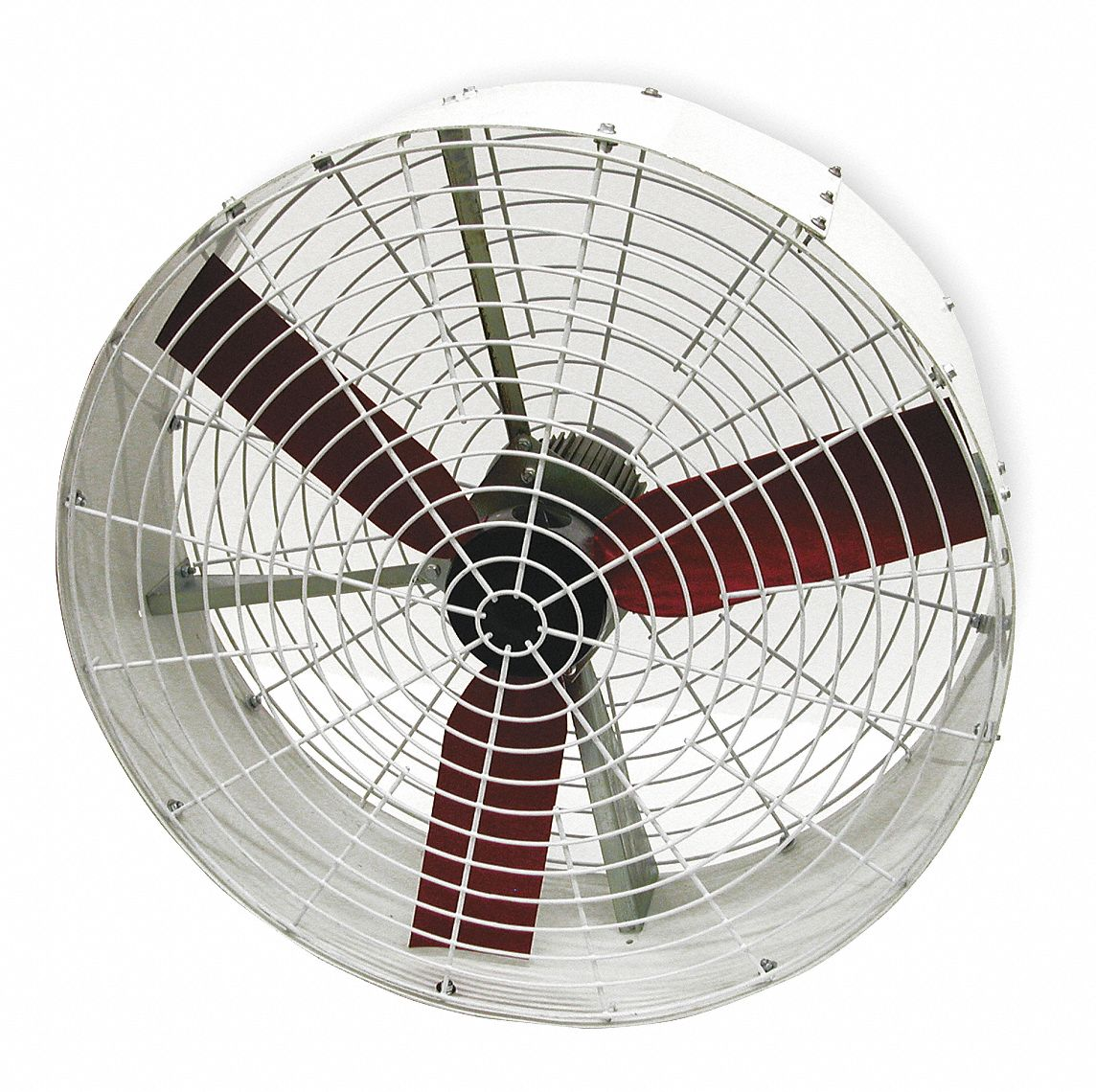 36 in Corrosion-Resistant Industrial Fan,  Stationary,  Fan Head Only,  115V AC