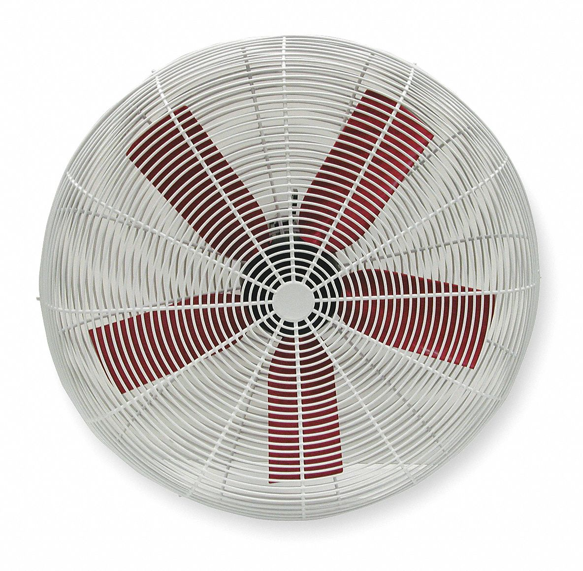 30 in Corrosion-Resistant Industrial Fan,  Stationary,  Fan Head Only,  115V AC
