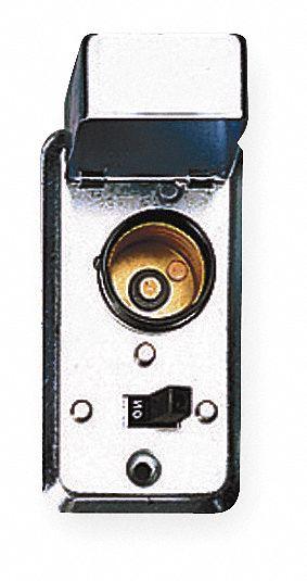 Plug Fuse Box Cover Unit, 2-1/4 In Handy Box Type, 15 Amps AC, 125VAC Voltage