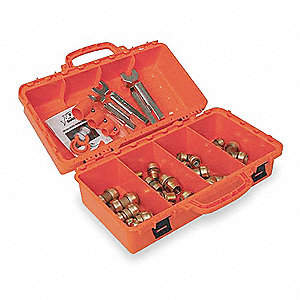 26 Piece, Push To Connect Contractor Kit