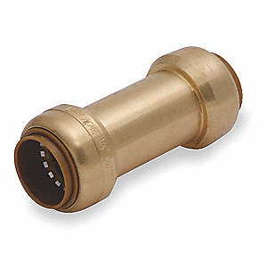 "3/4"" Check Valve, Brass, Push Connection Type"