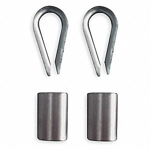 Sleeve and Thimble Kit,Steel,F/ 1DMV3