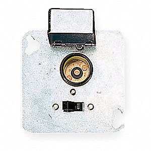 "Plug Fuse Box Cover Unit, 4"" Square Box Type, 15 Amps AC, 125VAC Voltage"