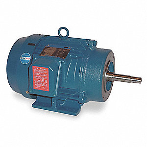 10 HP Close-Coupled Pump Motor,1760 Nameplate RPM,230/460 Voltage,215JM