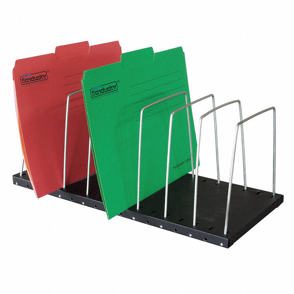 grainger approved file holder 8 compartments 7 1 2 in h 1dnp7 1dnp7