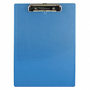 CLIPBOARD,LETTER,ICE BLUE