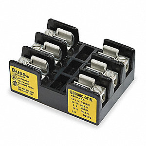 Fuse Block,Industrial,60A,3 Pole