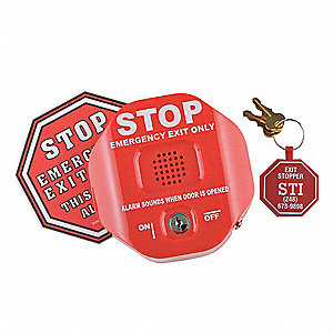 Exit Door Alarm,Annunciation,95 to 105dB