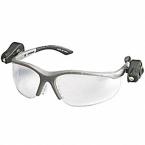 Light Vision  2 Anti-Fog Safety Glasses, Clear Lens Color