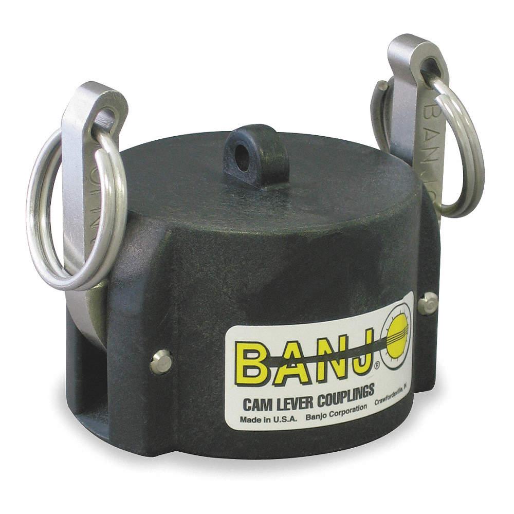 Banjo 075CAP Polypropylene Cam /& Groove Fitting 3//4 Female Coupler Dust Cap