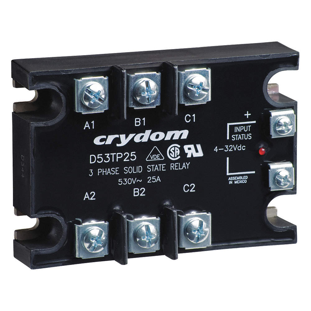 Crydom 3 Pole Surface Mount Solid State Relay Max Output Amps W Vs Scr Zoom Out Reset Put Photo At Full Then Double Click