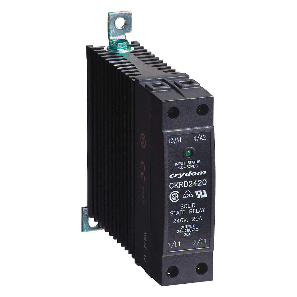 Crydom 1 Pole Din Rail Flange Mount Solid State Relay Max Output Vs Scr Zoom Out Reset Put Photo At Full Then Double Click