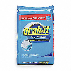 Grab-It Cloths, 6 PK
