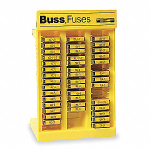 Glass Fuse Kit with 200 Fuses Included&#x3b; Fuse Series Included: ABC, AGC, GLH, GMA, MDL