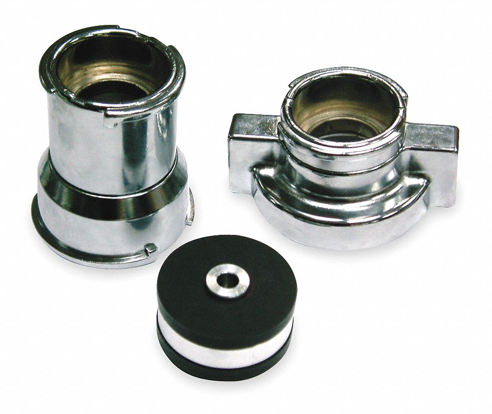 Radiator and Cap Leak Test Adapter Kit, Chrome-Plated