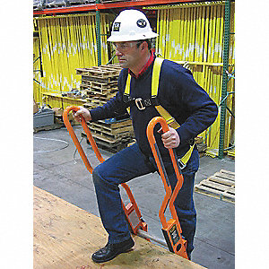 Safe T Ladder Extension, Aluminum, 375 lb. Load Capacity, Package Quantity 2