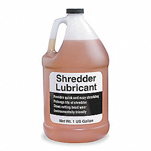 Shredder Oil, 1 gal. Container Size, Package Quantity 4