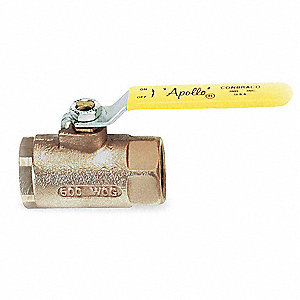 Bronze Ball Valve,Inline,FNPT,3 in